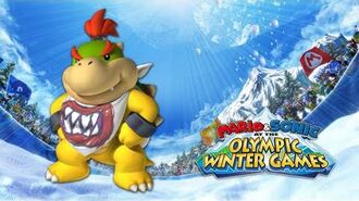 Bowser Jr. Voice Clips Mario & Sonic at the Olympic Winter Games