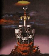 SMRPG Artwork Exor in Bowsers Festung