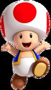 Toad Artwork - Super Mario 3D Land