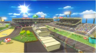 MKW Screenshot Luigis Piste