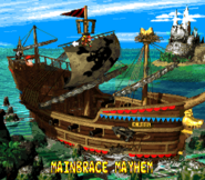 Mainbrace Mayhem - Overworld - Donkey Kong Country 2
