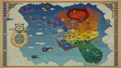 Mapa de Isla Prisma PMCS
