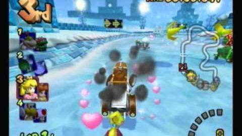 Mario Kart Double Dash!! - Sherbet Land (Peach & Daisy)