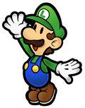 SPM Artwork Luigi