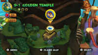 DKCR Screenshot Goldener Tempel