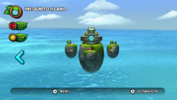 DKCTF Screenshot Icognito Island