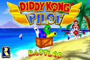 Main Menu - Battles - Diddy Kong Pilot (2001)