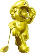 Mario De Oro Como jugador de Mario Golf World Tour