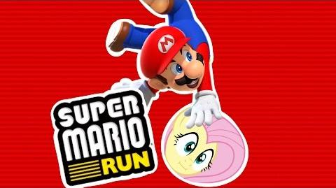 Fluttershy plays Super Mario Run 🍉 WHERE IS HE GOING?!