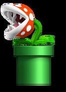 Nintendo, Artwork, Gegner, Piranha-Pflanze 3