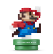 8-Bit Moderner-Mario-Amiibo