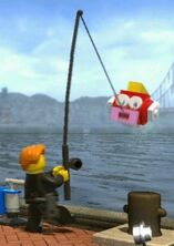Cheep cheep lego city undercover