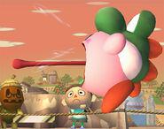 Kirby Yoshi SSBB