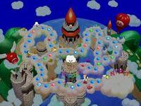 Mario's Rainbow Castle (Map)