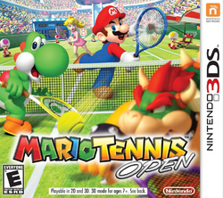 Mario Tennis Open - North American Boxart