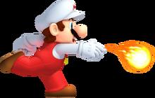 Mario de feu NSMB2