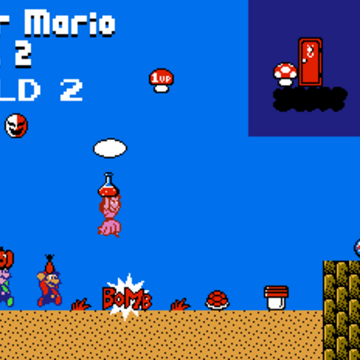 World 2 Super Mario Bros 2 Mariowiki Fandom