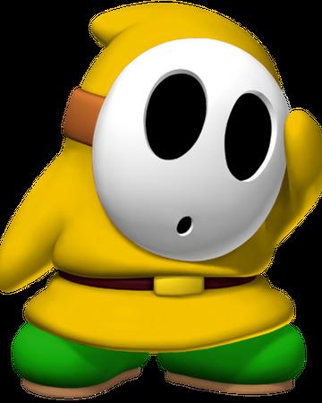 gelber charakter der schnorchels