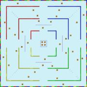 Kampfkurs 3 (SNES) Karte