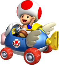 Toad Artwork - Mario Kart Wii