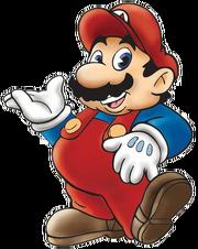 Mario Artwork DIC