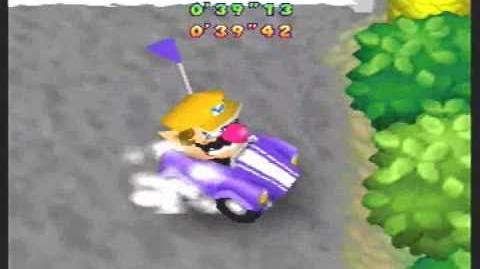 Mario Party 2 06 Driver's Ed Mini-Game (All Courses)