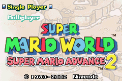 SuperMarioAdvance2Title
