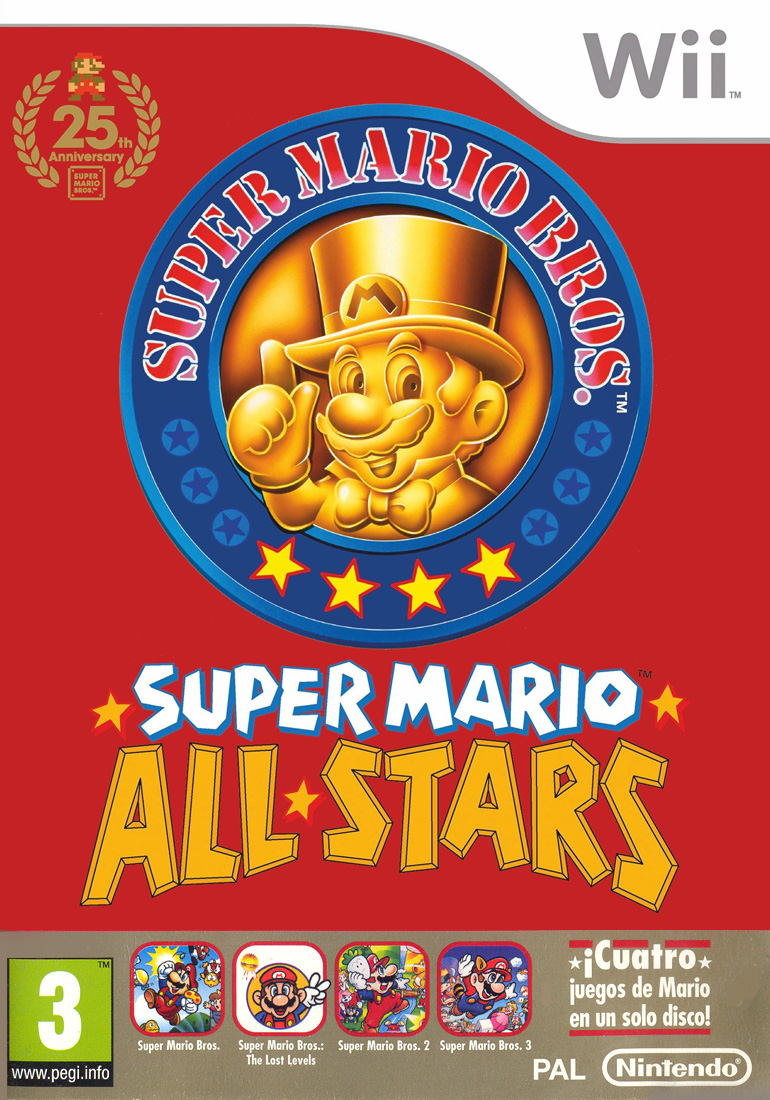 Super Mario All Stars Edicion 25 Aniversario Super Mario Wiki