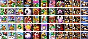 Welten Yoshi's Island DS