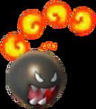 Chomp de fuego smash