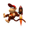 DKCR Artwork Diddy Kong