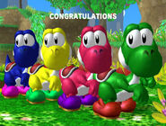 Félicitations Yoshi Melee Classique