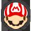 Icône Mario blanc Ultimate