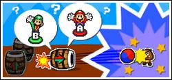 Mario y Luigi Barrilazo Humano