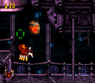 DKC3 Screenshot Alligator-Attentat 2