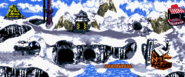 Gorilla Glacier - Overview - Donkey Kong Country (Color)