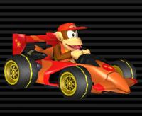 Intrépide II Diddy Kong