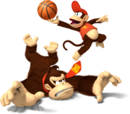 Mario Sports Mix Donkey Kong y Diddy Kong