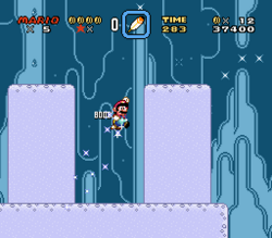 SMW Screenshot Donut-Rätsel 2