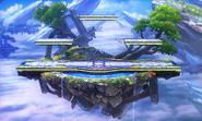 Smash Bros 3DS Escenario 1