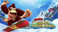 Donkey Kong Voice Clips Mario & Sonic at the Olympic Winter Games
