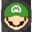 Icône Mario vert Ultimate