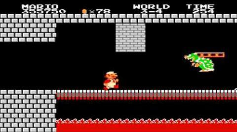 Super Mario Bros. - World 3-4