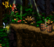 DKC2 Screenshot Geistergrube 4