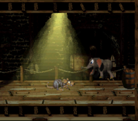 DKC3 Screenshot Moder-Mühle