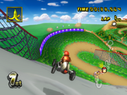 DK Mountain - Gap Turn - Mario Kart Wii