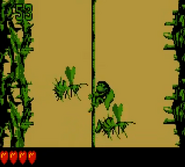 DKC2 Screenshot Brombeer-Gedrängel