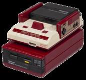 Famicom avec famicom disk system