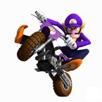 MKW Artwork Waluigi 2