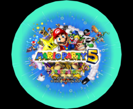Mario Party 5 Title Screen